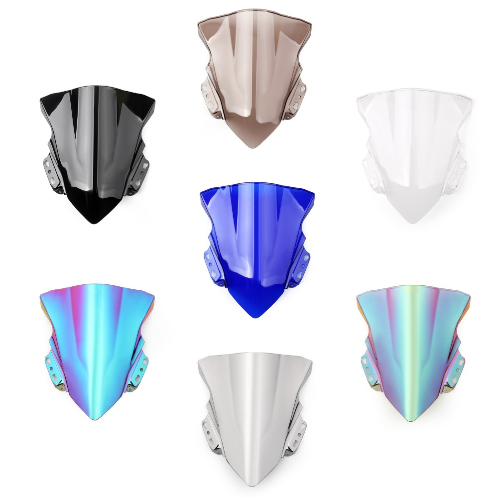 Areyourshop Motorcycle Wind Shield Windshield Windscreen For Visor Kawasaki Ninja 150 Rr New 250sl 2014 2017 Motor Fashion Styling Covers In Windscreens Deflectors