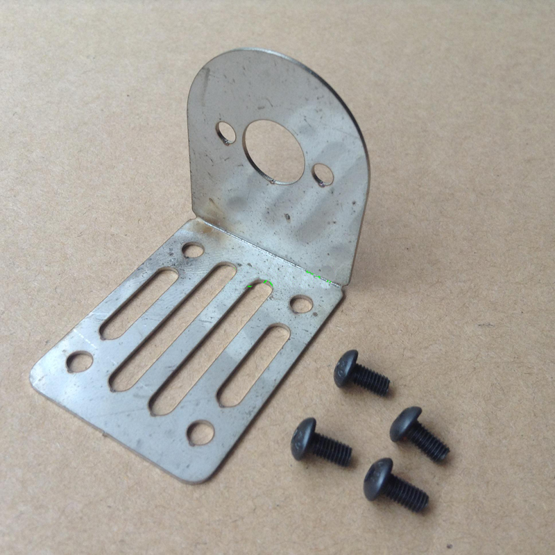 RC Boat 380 Motor Seat Stainless Steel 380 Motor Bracket Thickness 1mm Brush Motor Mounting Bracket L41mm*W30mm*H36mm