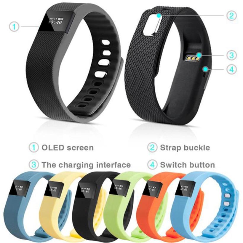 Smart Wrist Band Sleep Sports Fitness Activity Tracker Pedometer Bracelet Watch drop shipping 0814