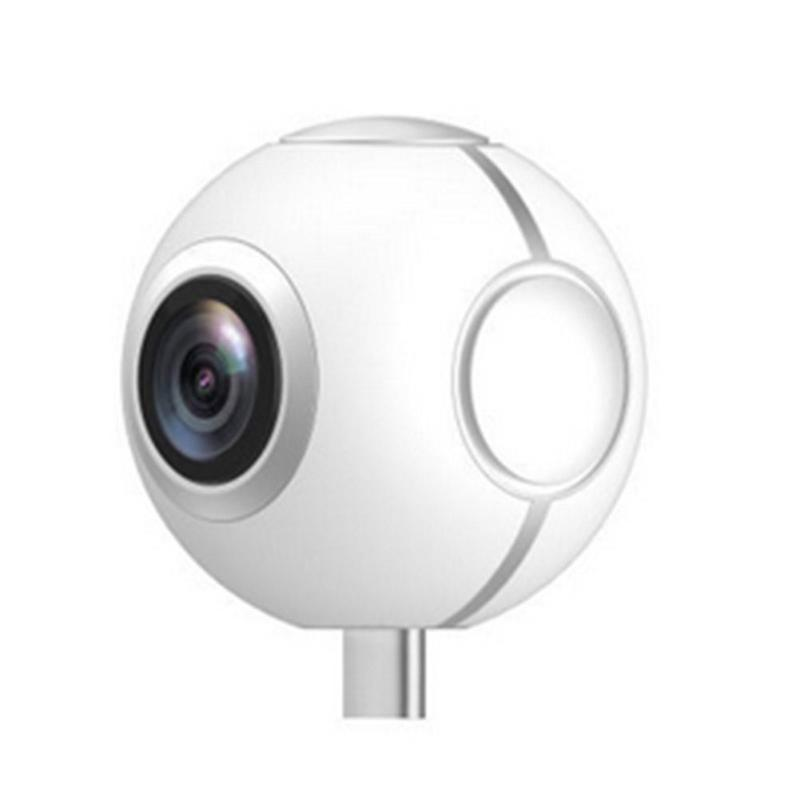 360 Panoramic Video Recorder Camera VR Camera 720P Ultra HD Video Dual Wide Angle Lens 360