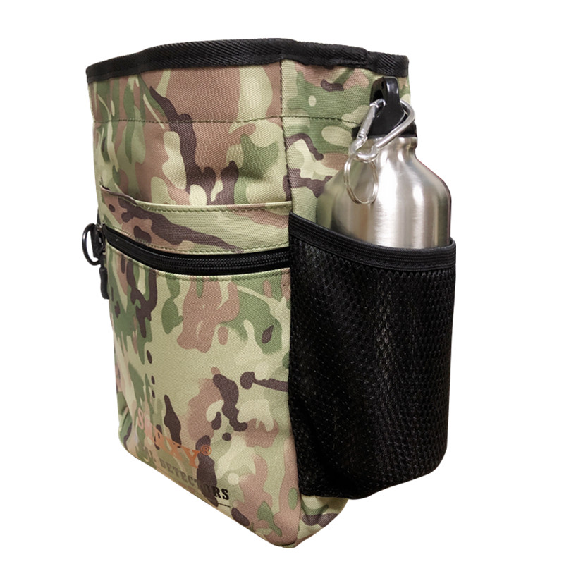 Metal Detecting Finds Bag Multi-purpose Digger Pouch for PinPointer Garrett Xp ProPointer Detector Waist Pack Mule Tools Bag