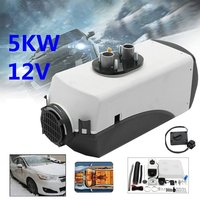 12V 5000W LCD Schalter Vehicle Air Diesel Heater For Cars Trucks Yachts Boats Home Bus Motor