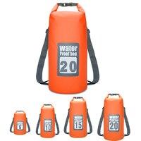 5L 10L 15L 20L одежда заплыва водостойкие сумки хранения гермомешок сумка для каноэ каяк Рафтинг Спорт на открытом воздухе дорожные