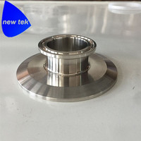 3 Inch X 1 5 Inch Triclamp End Cap Reducer SS304 Triclover Flat Reducer