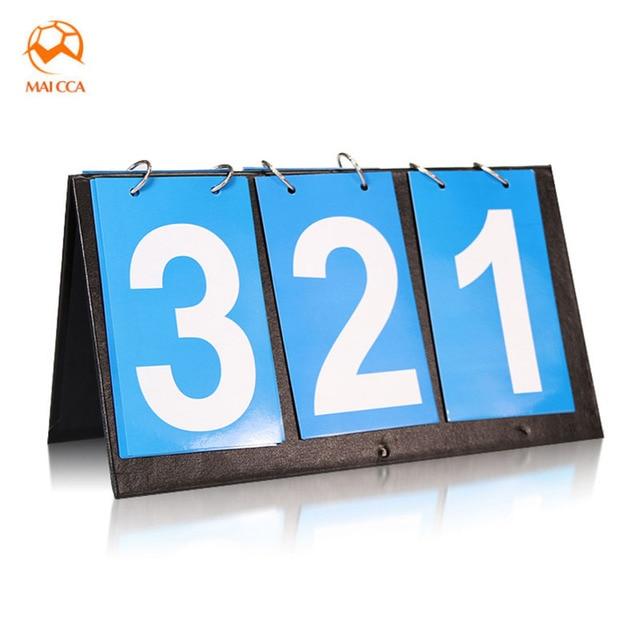 4d2987c57 MAICCA placar de 3 dígitos Para O ténis de Mesa de plástico Pano de Futebol  Esportes