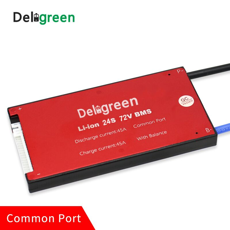 24S 35A 45A 60A PCM PCB BMS for 72V lithium LiPO battery pack for electric bicycle