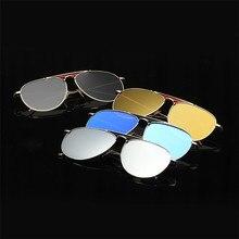 Men Fashion Sunglasses Alloy Frame TAC Polarized Lenses Flash Colors EXIA OPTICAL KD-8040 Series