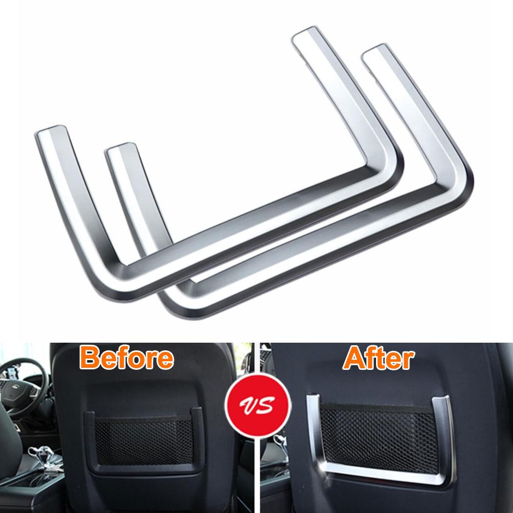 2PCS / PAIR belső elülső ülés hátsó hátsó tároló - Autó belső kiegészítők