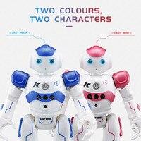 JJR/C JJRC R2 USB de Carregamento Dança Gesto Controle RC Robot Brinquedos para Crianças Caçoa o Presente de Aniversário YH-17
