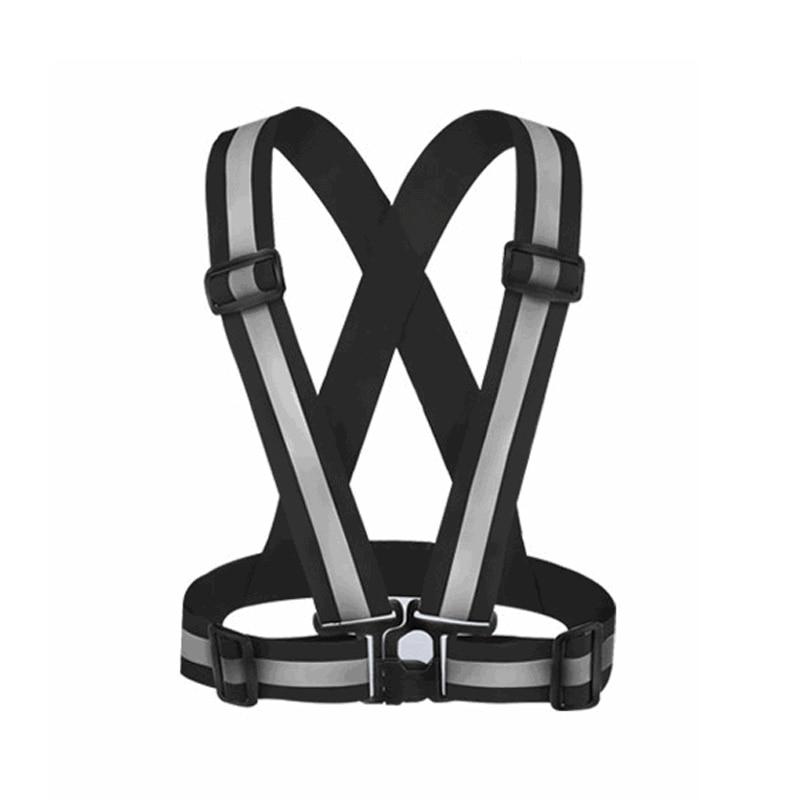 High Visibility Elasticity Belt Safety Vest Unisex Outdoor Safety Vest Reflectiv