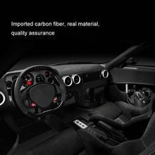 New Interior light weight Lifter Carbon Fiber Gear Sticker For Ford Mustang Car Styling Door Veneer Accessories zk30