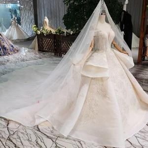 Image 3 - HTL275 Sweetheart งานแต่งงานชุดเดรสเจ้าสาว handmade appliques คริสตัลเจ้าหญิงงานแต่งงานชุด 2020 ใหม่แฟชั่นการออกแบบ Boda