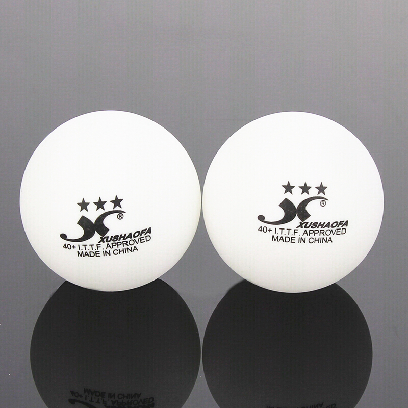 72 balls XuShaoFa Table Tennis Ball 3 Star 40 XSF Seamless ITTF Approved New Material plastic White poly Ping Pong Balls in Table Tennis Balls from Sports Entertainment