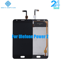 For Original Ulefone Power 2 In Mobile Phone LCD Display TP Touch Screen Digitizer Assembly Lcds