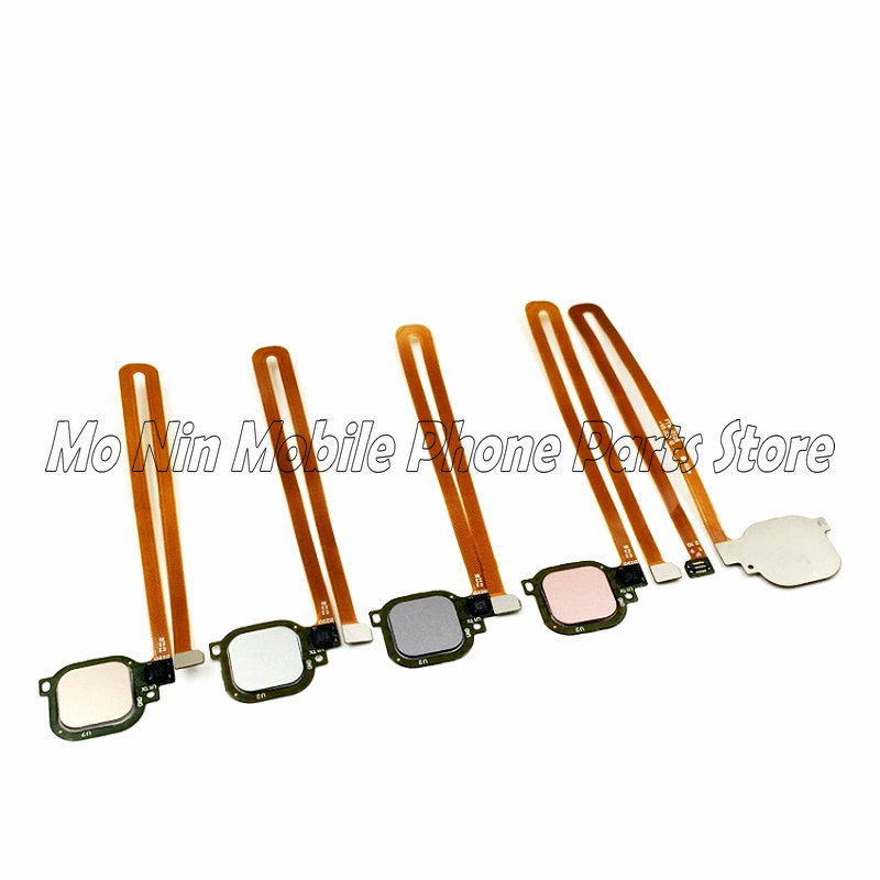 New Home Button Touch ID Sensor Key For Huawei Honor 6X V8 G9Plus Replacement Parts FingerPrint Button Flex Cable