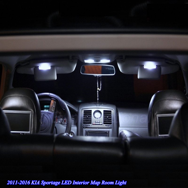 5pcsx car led light bulb for kia sportage 2011 2016 white xenon interior lighting for kia. Black Bedroom Furniture Sets. Home Design Ideas