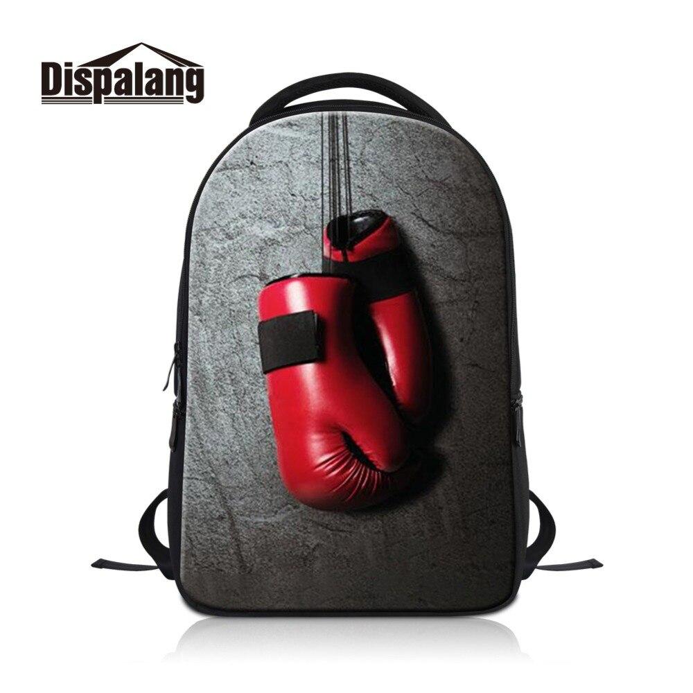 Dispalang concevoir votre propre image sur sac à dos pour ordinateur portable pour hommes gants personnalisés sac à dos d'ordinateur de l'étudiant pour voyager