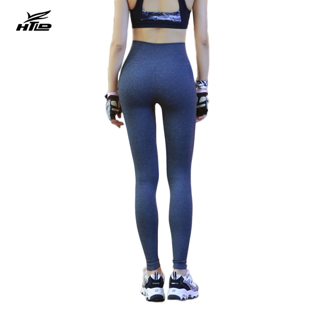 HTLD Elastic Fitness Leggings Women Deportivas mujer High Waist Pencil Pants Push Up Workout Trousers Leggins Gothic Jeggings