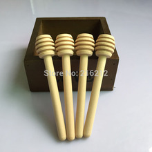 10 x2.5cm New Arrive MINI Wooden Honey Dippers Wedding Favors Welcome customize
