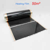 50M2 Infrared Floor Heating Film 220W/square meters Width Choose Infared Heating Film for House Warming