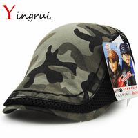 Hot Sale Camouflage Snapback Hats Army Green Cool Women Baseball Caps Mens Casquettes Journey Outdoor Bones