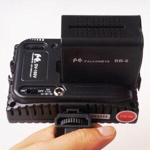 Image 3 - Falcon oczy 6 sztuk baterii AA pakiet przypadku wymiana zasilania jak NP F970 dla Led lampa wideo panelu lub Moniter tworzenia kopii zapasowych baterii