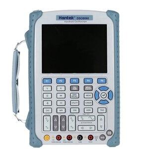 Image 1 - Hantek DSO8060 60 Mhz כף יד דיגיטלי מודד אוסצילוסקופ 2 ערוצים Osciloscopio Portatil 5 ב 1 מנתח ספקטרום DMM
