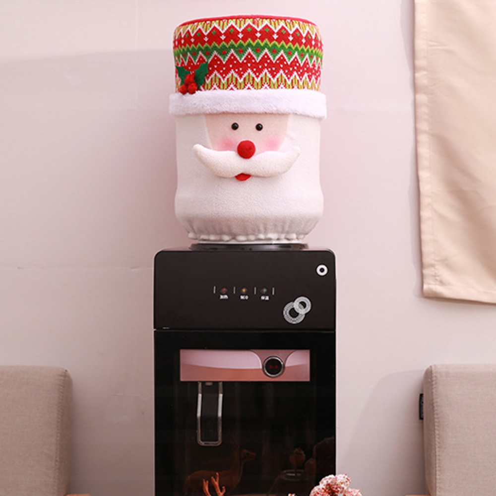 Christmas Tree Drinking Water: Christmas Decorative Water Dispenser Covers Drinking