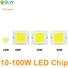 LED COB Chip Light 10W 20W 30W 50W 100W LED lamp/LED driver Transformer Voltage regula High Flux Suitable For Flood Light DIY(China)