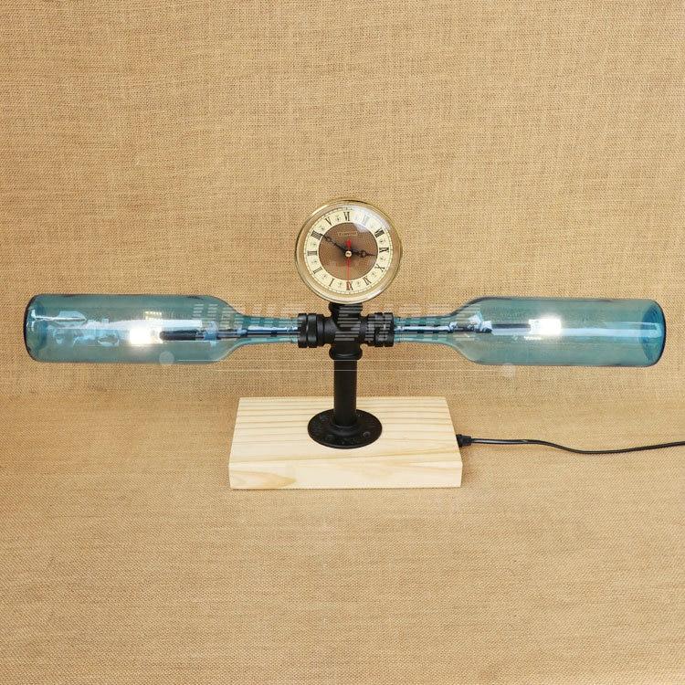 Здесь продается  Fashion design 4 color wooden base winebottle desk lamp   Свет и освещение