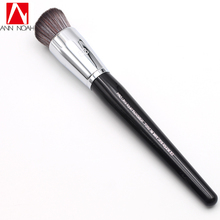 Professional Black Long Wood Handle Dense Synthetic Fiber 83 Pro Ultra Liquid Foundation Makeup Brush