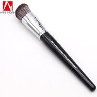 Professional Black Long Wood Handle Dense Synthetic Fiber 83 Pro Ultra Liquid Foundation Makeup Brush