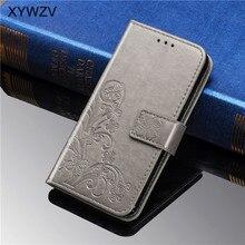 Para Huawei Nova 4E funda a prueba de golpes Flip Wallet Soft Silicon Phone Case tarjetero Fundas para Huawei Nova 4e funda nova 4E