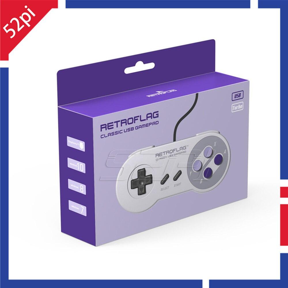 In Stock! 52Pi Retroflag Original USB Gamepad SUPERPi Game Controller For CASE-U / CASE-J / NESPi Case / Raspberry Pi