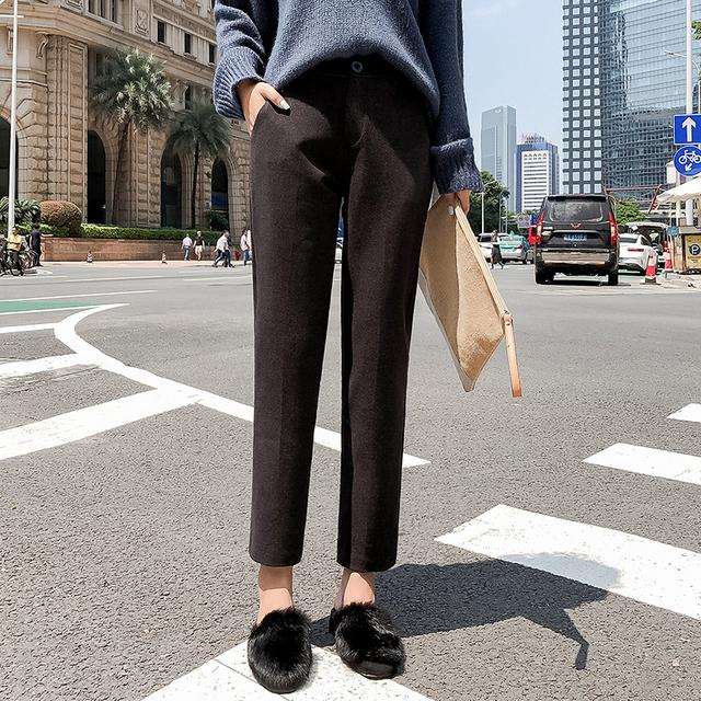 Women's Elastic Cotton Pants
