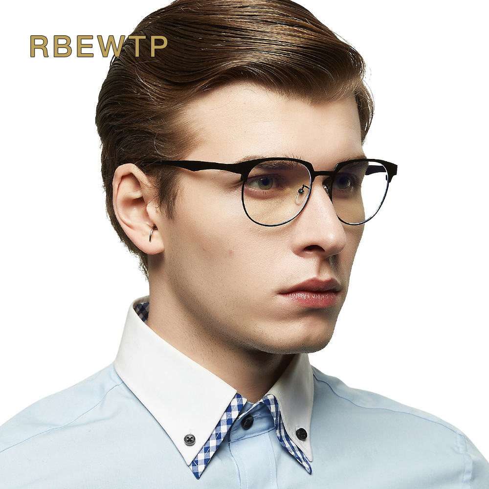 RBEWTP Blue Light Blocking Glasses Computer Goggles led Reading Glasses Radiation-resistant Clear Gaming Glasses Frame Eyewear