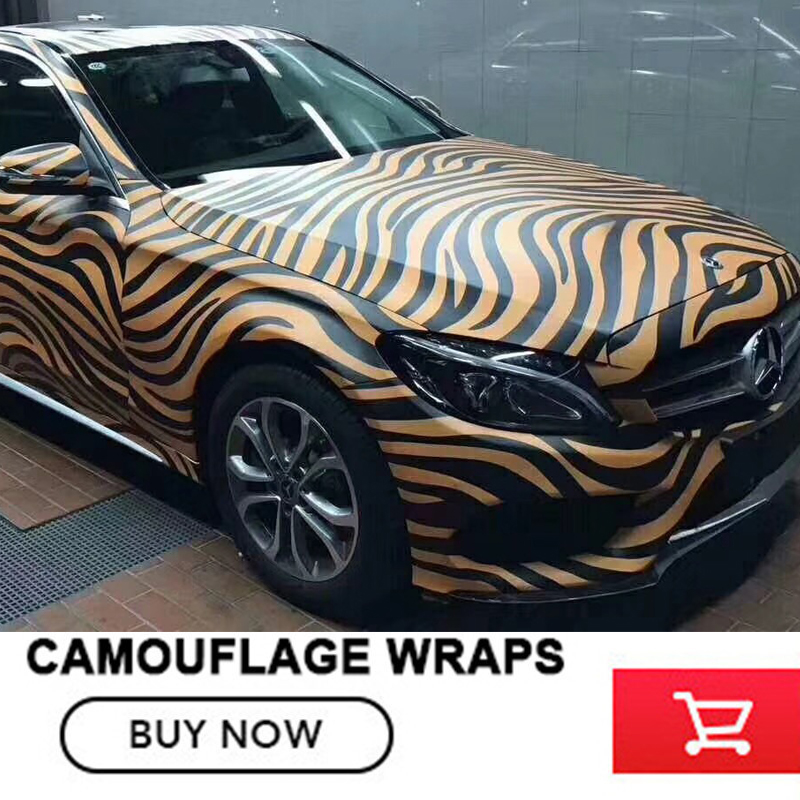 stripe wave matte Camouflage Vinyl Film Wrap Foil With Air Bubble Free Adhesive Motorcycle Automobiles Car Sticker any zise digital adhesive black white camo vinyl wrap camouflage film with air bubble free for car wrapping motocycle