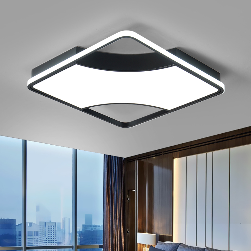 2019 Top Fashion Modern Led Chandelier For Living Room Bed Foyer Dimmable Lights Surface Mounted 10