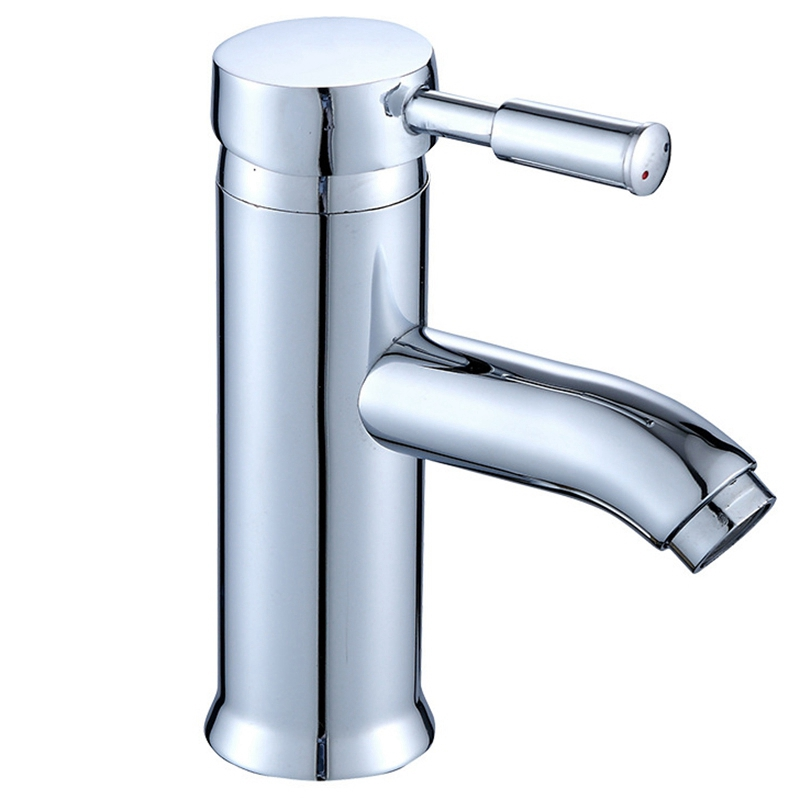Single Handle Kitchen Bathroom Basin Sink Hot and Cold Water Mix Faucets Washbasin Tap Faucet