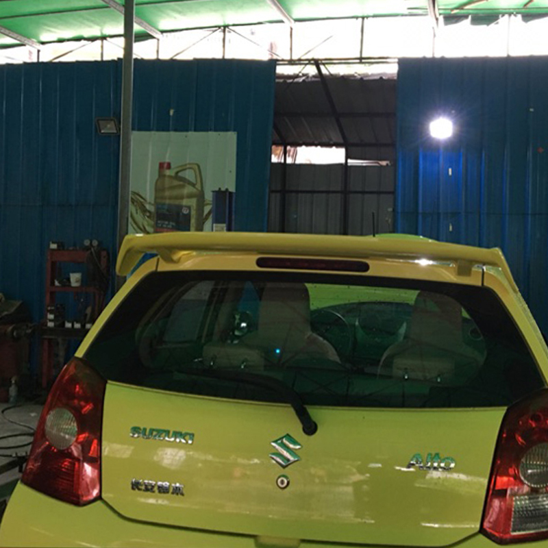 купить use for Suzuki Alto auto parts rear spoiler ABS plastic unpainted primer for Suzuki Alto 2009-2015 rear spoiler онлайн