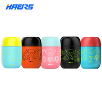 Haers Candy Color Soup Food Thermos for Food Lunch Box 460ML
