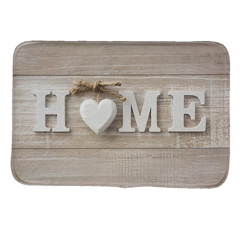 home style Print Doormat Non slip Floor Mat Pad kitchen Room Carpet Mats Tapis Pastoral Water