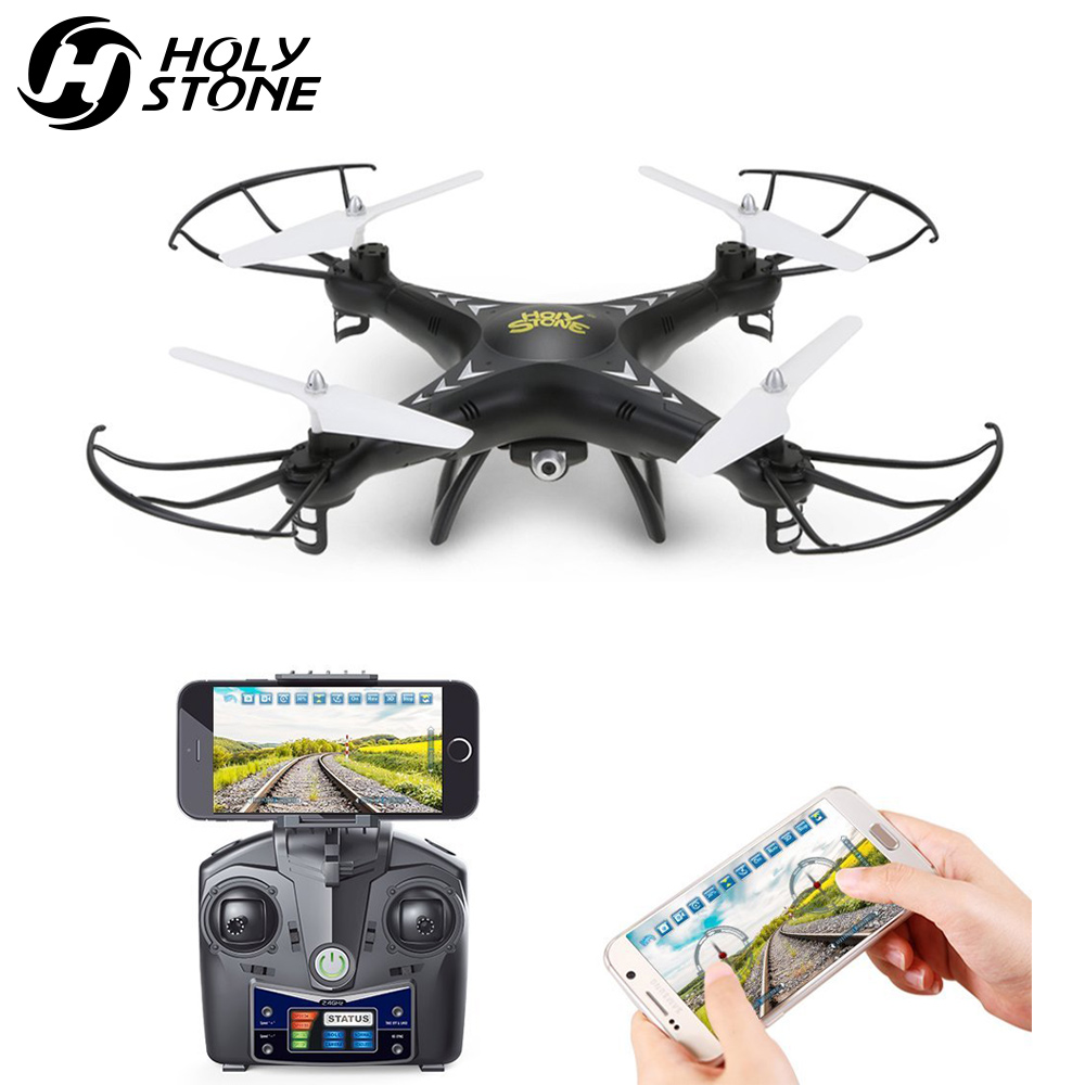 Holy Stone HS110 FPV RC Drone with Camera RC Helicopter 720P HD Live Video WiFi 2.4GHz 4CH 6-Axis Gyro Altitude Hold Quadcopter yizhan i8h 4axis professiona rc drone wifi fpv hd camera video remote control toys quadcopter helicopter aircraft plane toy