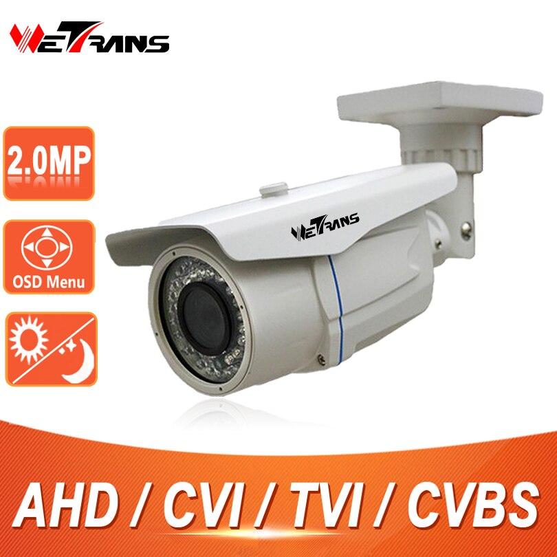 CCTV Camera AHD 1080P HD CVI TVI SONY CMOS 60m Long Distance Night Vision Waterproof IP66 Security Camera 2.0 Megapixel Cam CCTV hd ahd cvi tvi cvbs bullet camera with alarm speaker waterproof ip67 hd 1080p 4 in 1 security camera outdoor night vision ir 20m