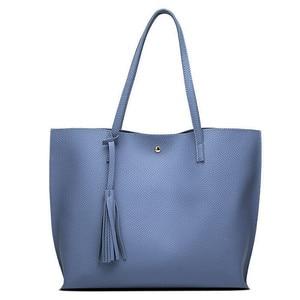 Image 2 - Women Handbag Messenger Shoulder Bags Big Leather Bag Female Black Handbag Lady Tote Crossbody Bag Popular Ladies Hand BagsGift