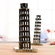 Magnificent Leaning Tower of Pisa Tower Crafts Creative Souvenirs Italian Architectural Figurine Ornaments Home Decoration Craft