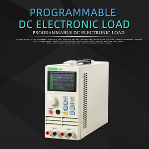 Image 5 - Professional programmable dc electrical load Digital Control DC Load Electronic Battery Tester Load 150V 40A 400W load ET5410