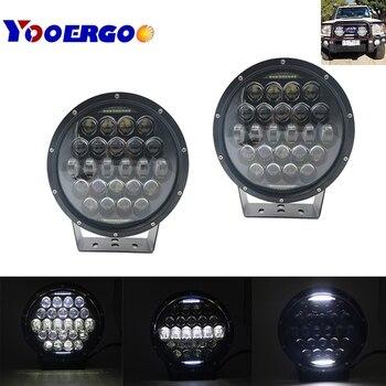 9 inch LED Work Light Bar 300 LED Light Bar 12V 24V Spot Flood For 4WD 4x4 Truck Trailer SUV Offroad Boat ATV