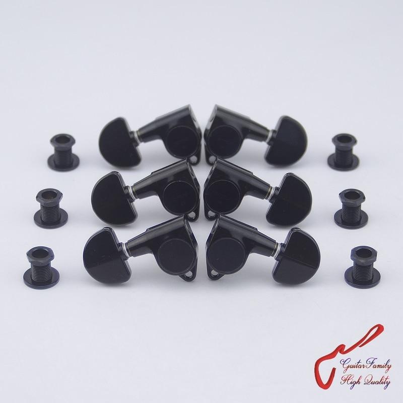 Original Genuine L3+R3  GOTOH SG301-20  Guitar Machine Heads Tuners  ( Black )  MADE IN JAPAN футболка element made to endure ss r black