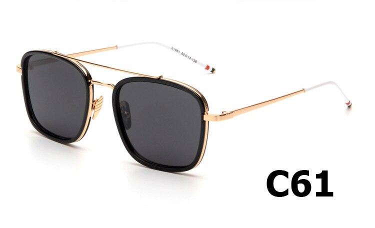 5ae61c1baec 2015 Fashion Trend Men Thom Browne Sunglasses For Man UV400 Brand Design Sun  Glasses Oculos De Sol Masculino S1861-in Sunglasses from Apparel  Accessories on ...
